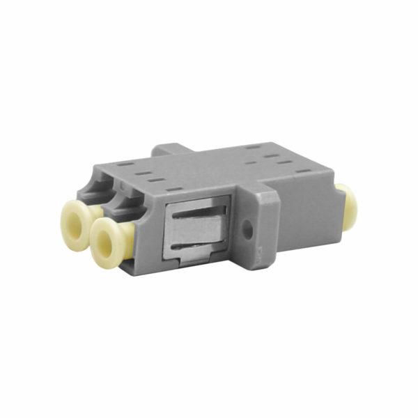 Проходной оптический адаптер duplex LC/UPC, Multimode
