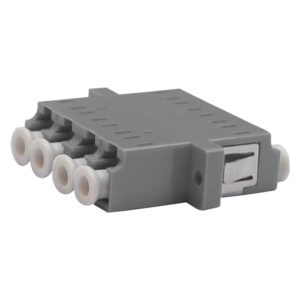 Проходной оптический адаптер qudruplex LC/UPC, Multimode