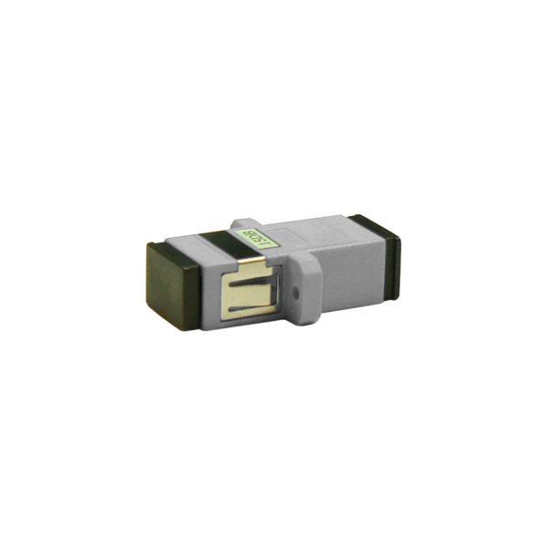 Проходной оптический адаптер SC/UPC, Multimode