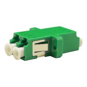 Проходной оптический адаптер duplex LC/APC, Singlemode