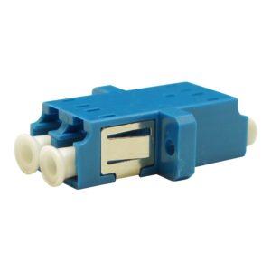 Проходной оптический адаптер duplex LC/UPC, Singlemode