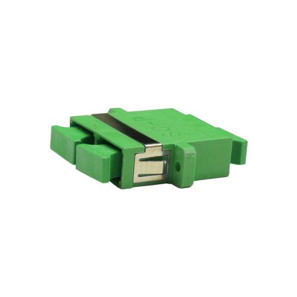 Проходной оптический адаптер duplex SC/APC, Singlemode
