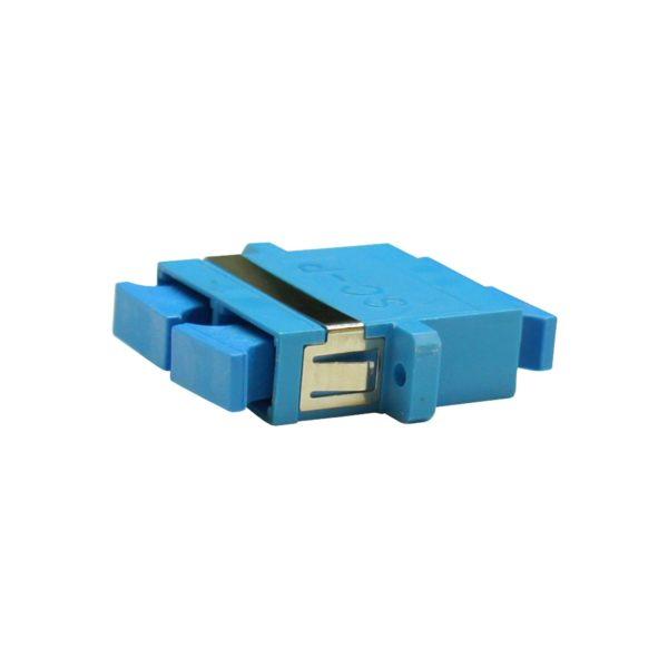 Проходной оптический адаптер duplex SC/UPC, Singlemode