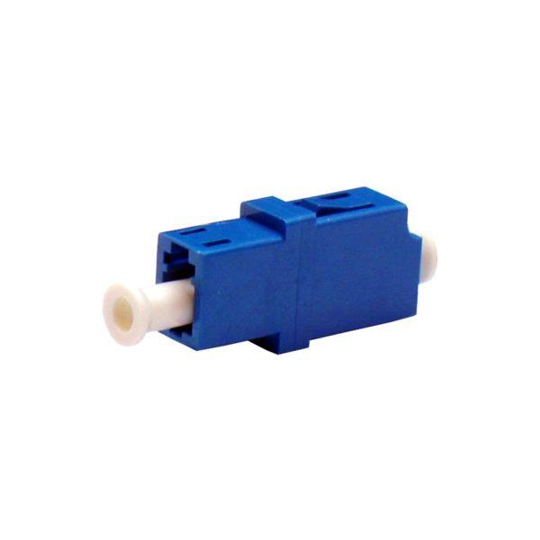Проходной оптический адаптер LC/UPC, Singlemode