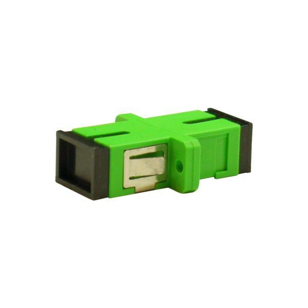 Проходной оптический адаптер SC/APC, Singlemode