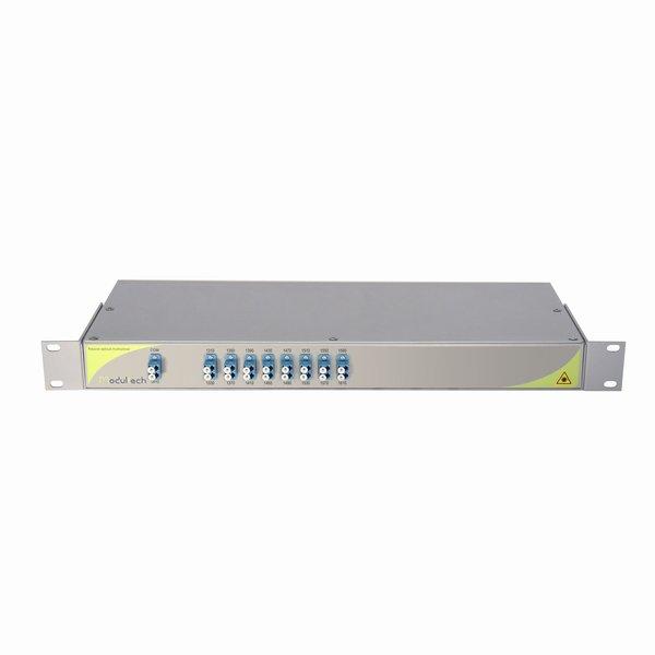 Мультиплексор CWDM одноволоконный 8-канальный, 1310-1610нм, LC/UPC