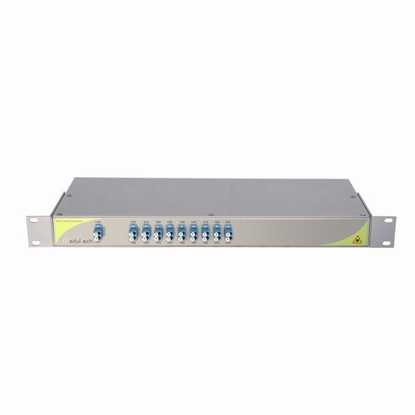 Мультиплексор CWDM одноволоконный 9-канальный, 1270-1610нм, LC/UPC