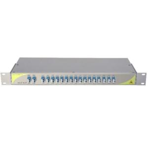 Мультиплексор DWDM двуволоконный 16-канальный