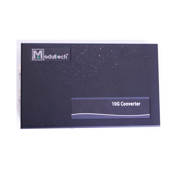 Медиаконвертер, 10G-Base-T - 10G-Base-FX, SFP+