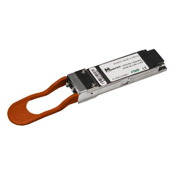 Оптический трансивер QSFP28, 100 Гбит/с, до 40 км, SMF