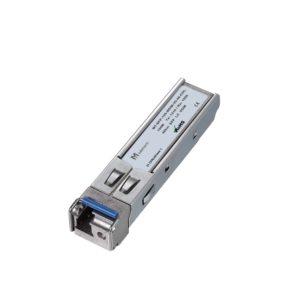 Оптический трансивер SFP WDM, 155 Мбит/с, до 40 км, SMF, 1310/1550