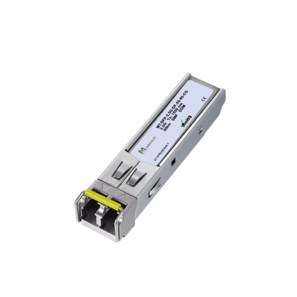 Оптический трансивер SFP, 2,5 Гбит/с, до 80 км, SMF