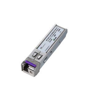 Оптический трансивер SFP WDM, 2,5 Гбит/с, до 40 км, SMF