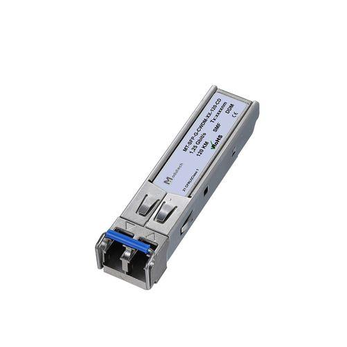 Оптический трансивер SFP CWDM, 1,25 Гбит/с, до 120 км, SMF