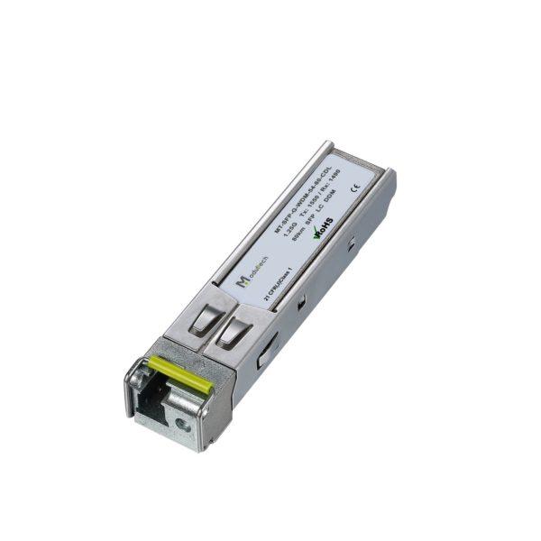 SFP WDM 1.25G 80km 1550 LC