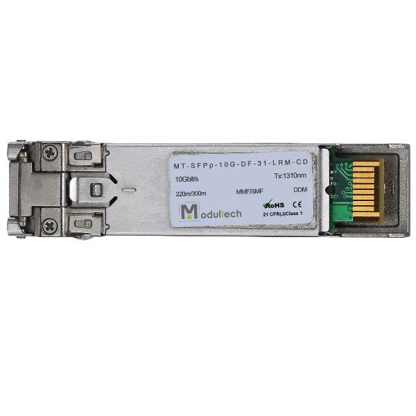Оптический трансивер SFP plus, 10 Гбит/с, до 0,3 км, MMF/SMF