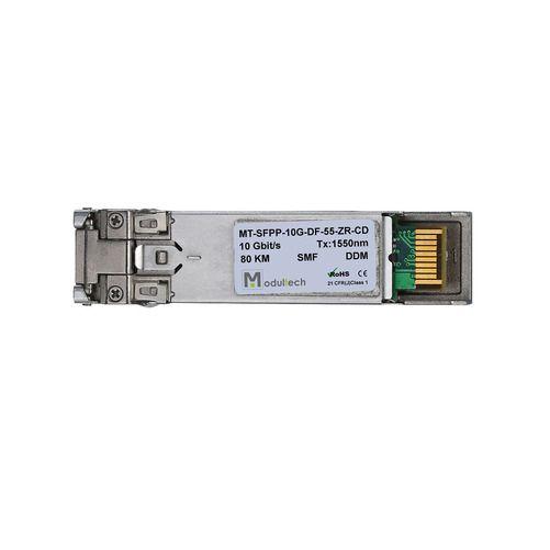 Оптический трансивер SFP plus, 10 Гбит/с, до 80 км, SMF