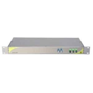 Мультиплексор CWDM одноволоконный 2-канальный + выделенный TV канал
