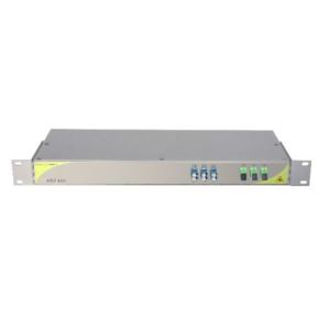 Мультиплексор CWDM одноволоконный 3-канальный + выделенный TV канал