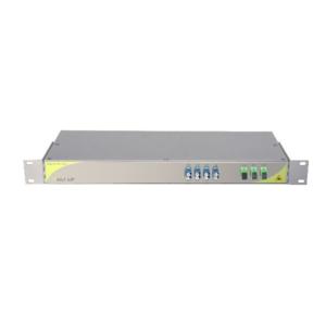 Мультиплексор CWDM одноволоконный 4-канальный + выделенный TV канал