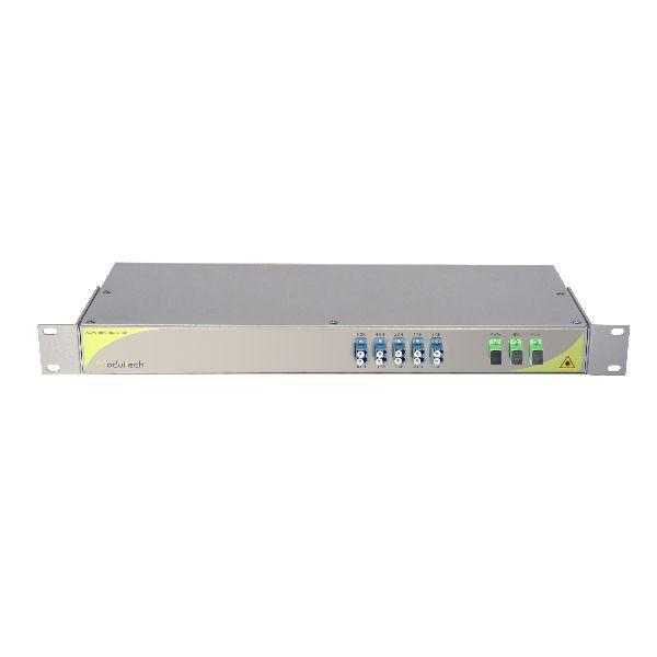 Мультиплексор CWDM одноволоконный 5-канальный + выделенный TV канал