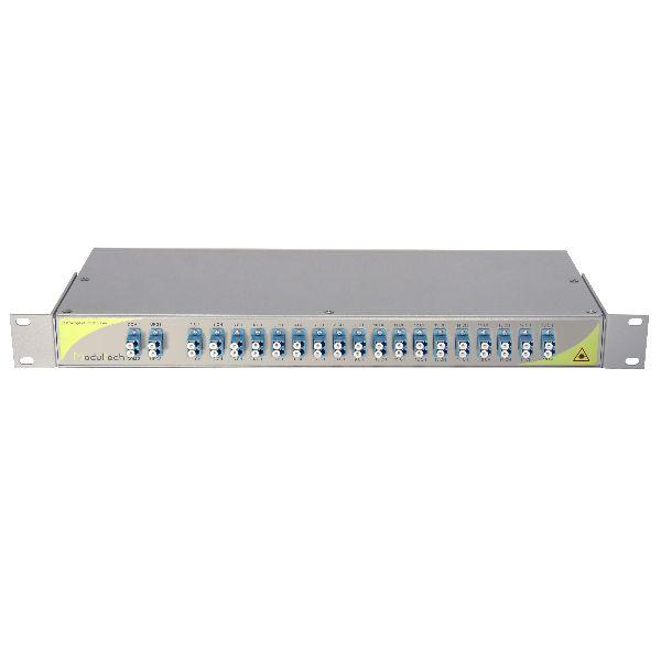 Мультиплексор CWDM двухволоконный 18-канальный
