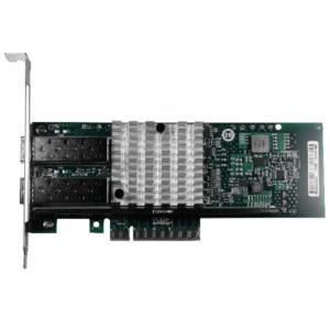 Сетевая карта 10Gigabit Ethernet, 2 SFP+ порта, 2*10G Base-X, 10 Гбит/с, Intel 82599