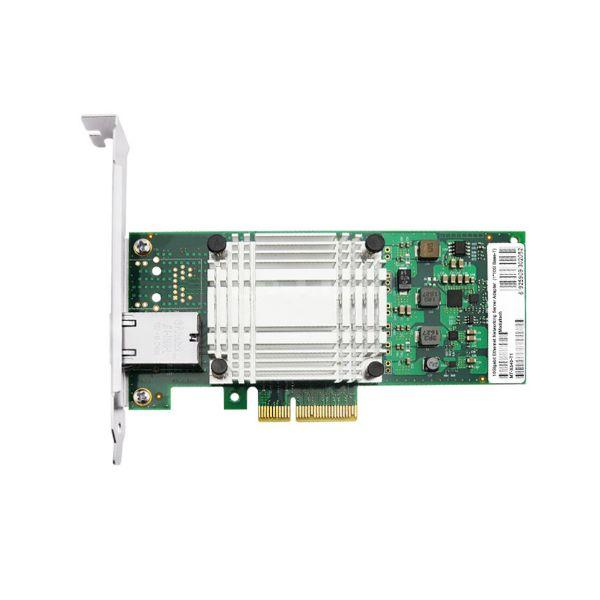 Сетевая карта 10Gigabit Ethernet, RJ-45, 1*10G Base-T, 10 Гбит/с, Intel x540