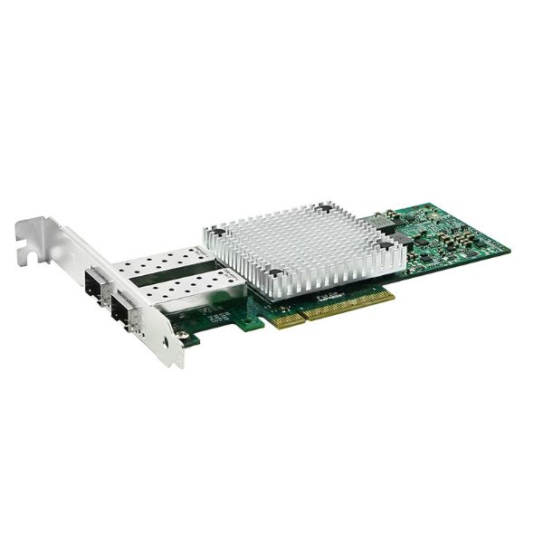 Сетевая карта 10Gigabit Ethernet, 2 SFP+ порта, 2*10G Base-X, 10 Гбит/с, Intel x710