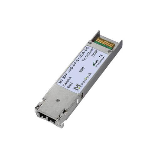 Оптический трансивер XFP, 10 Гбит/с, до 2 км, SMF, 1310