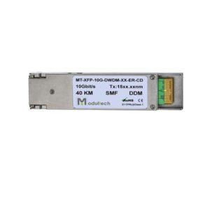 Оптический трансивер XFP DWDM, 10 Гбит/с, до 40 км, SMF