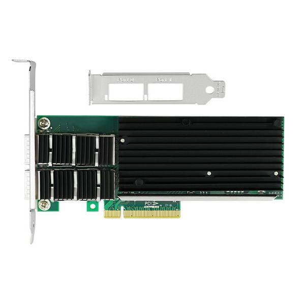 Сетевая карта 40Gigabit Ethernet, 2 QSFP+ порта, 2*40G Base-X, 40 Гбит/с, Intel xl710