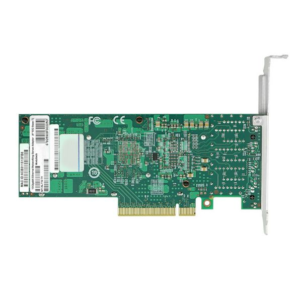 Сетевая карта 10Gigabit Ethernet, 4 RJ-45, 4*10G Base-T, 10 Гбит/с, Intel xl710