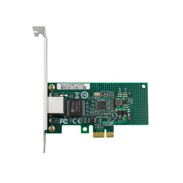 Сетевая карта Gigabit Ethernet, RJ-45, 1*10/100/1000Base-T, 1,25 Гбит/с, Intel i210