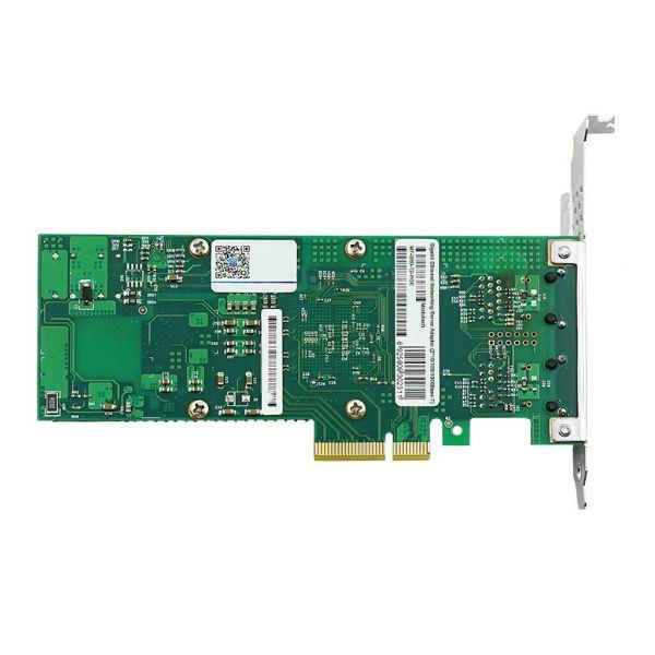 Сетевая карта PoE Gigabit Ethernet, 2 RJ-45, 2*10/100/1000Base-T, 1,25 Гбит/с, Intel i350