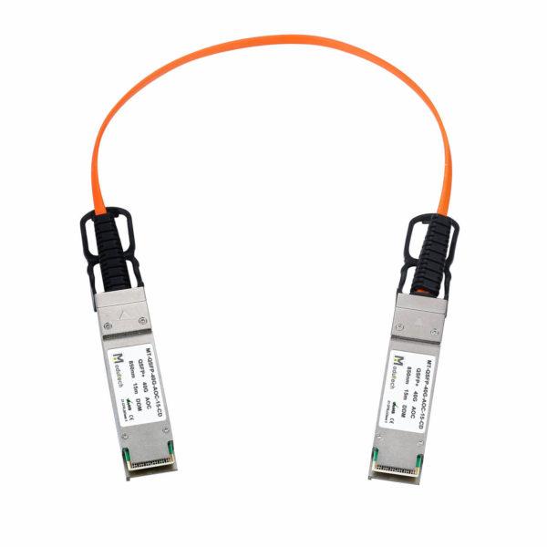 Оптический трансивер Active optical cable QSFP, 40 Гбит/с, 15 м