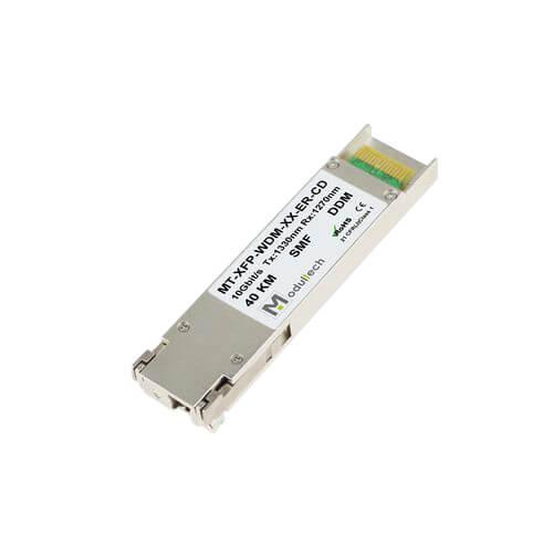 Оптический трансивер XFP WDM, 10 Гбит/с, до 40 км, SMF, 1270