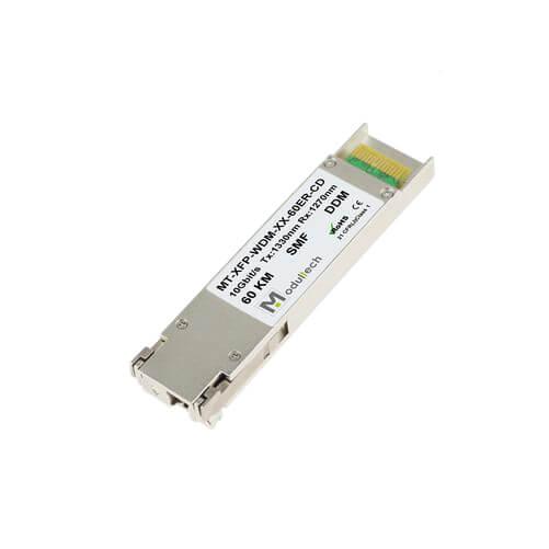 Оптический трансивер XFP WDM, 10 Гбит/с, до 60 км, SMF, 1330