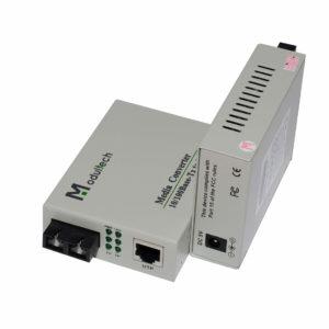 медиаконвертер MT-MC-100/G-31-20-SA общий вид