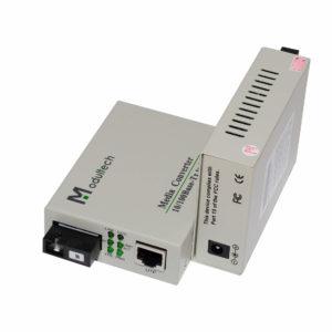 медиаконвертер MT-MC-100/G-53-80-SA общий вид