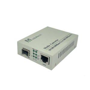 Медиаконвертер 100/1000M SFP слот