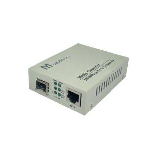 Медиаконвертер 100M SFP слот
