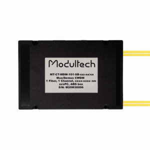 Мультиплексор CWDM, 1 канал, ABS box