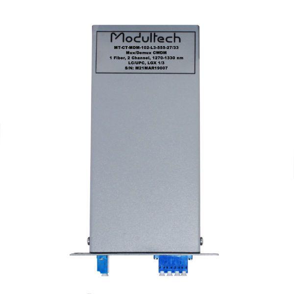 Мультиплексор CWDM, 2 канала, 1270-1330, LGX 1/3