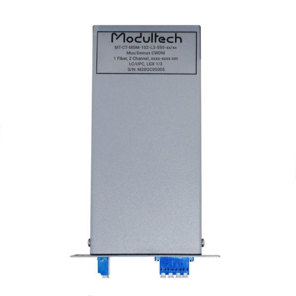 Мультиплексор CWDM, 2 канала, LGX 1/3