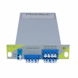 Мультиплексор CWDM, 6 каналов, LGX 1/3