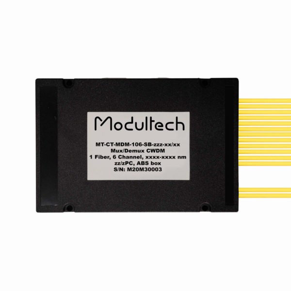 Мультиплексор CWDM, 6 каналов, ABS box