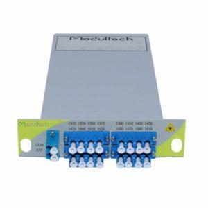 Мультиплексор CWDM, 2 каналa, 1310-1610, LGX 1/3