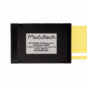 Мультиплексор CWDM, 8 каналов, ABS box