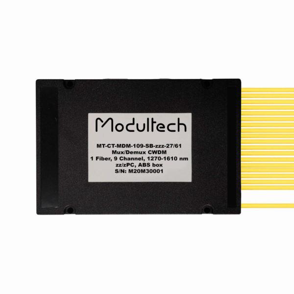 Мультиплексор CWDM, 9 каналов, ABS box